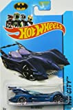 Hot Wheels Batman 75th Anniversary 2014 Hw City Blue Batmobile 62/250