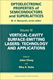 img - for Vertical-Cavity Surface-Emitting Lasers: Technology and Applications (Optoelectronic Properties of Semiconductors and Superlattices) book / textbook / text book