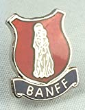 Banff Scotland Crest Enamel Lapel Pin Badge
