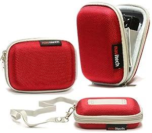 Housse étui Navitech (rouge) appareil photo numérique pourNikon COOLPIX S6600 / S6500 / S5200 / S4400 / S3500 / S3400 / S2750 / S2700 / S02 / 28 / L27