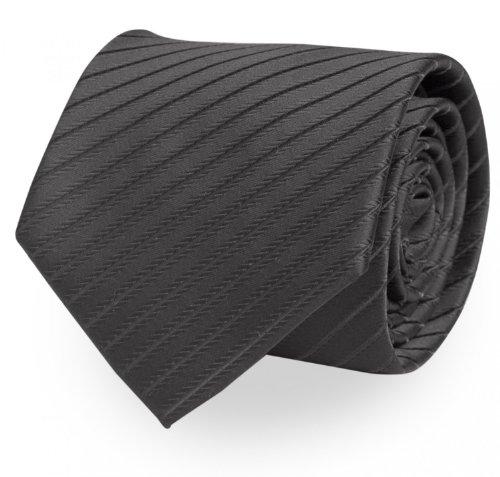 krawatte von fabio farini gestreift in schwarz. Black Bedroom Furniture Sets. Home Design Ideas