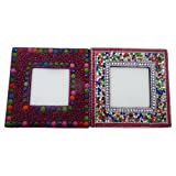 Decorative Table Top Photo Frames Indian Home Decor Set Of 2 Pcs Antique Picture Frame Handicraft Christmas Gift