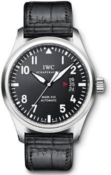 IWC Black Alligator Men's Watch