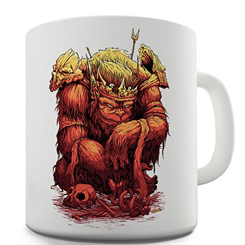 Twisted Envy King Ape divertente tazza in ceramica