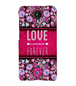 Love Forever 3D Hard Polycarbonate Designer Back Case Cover for Micromax Canvas Nitro 4G E455