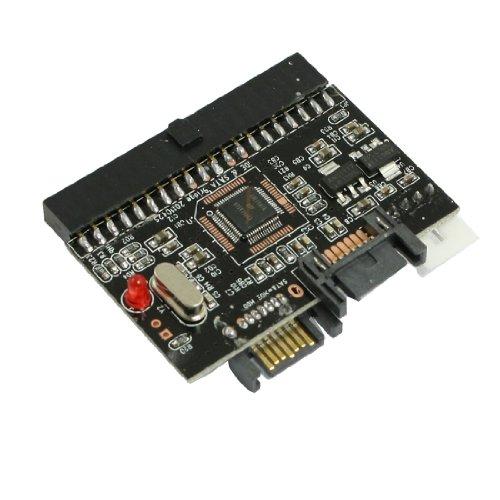 Ide Hdd To Sata Serial Ata Adapter Converter Black W Sata Cables