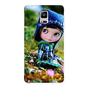 Kid Cute Multicolor Back Case Cover for Galaxy Note 4