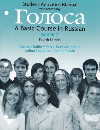Student Activities Manual for Golosa, Book 2: A Basic...