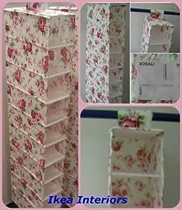 ikea skubb h ngeaufbewahrung mit 10 f chern rosali baumarkt. Black Bedroom Furniture Sets. Home Design Ideas