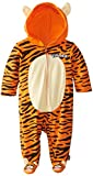 Disney Baby-Boys' Newborn Tigger Hooded Coverall with Ears