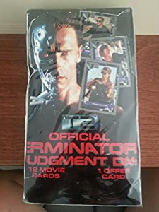 Official Terminator 2 Judgement Day Movie Trading Cards Sealed Box of Packages
