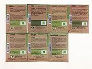 Organic, Heirloom, Non-GMO, Garden Seeds - 7 Varieties of Vegetable Leafy Power Greens - Arugula, Kale, Lolla Rossa Lettuce, Buttercrunch Lettuce, Gourmet Mix Lettuce, Spinach, Swiss Chard