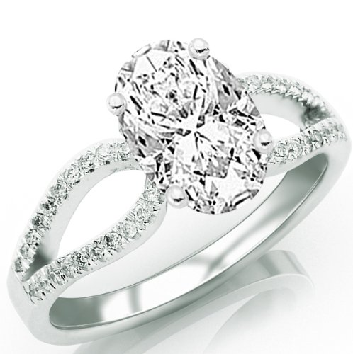 split shank oval engagement rings Quotes