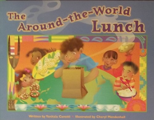 Steck-Vaughn Pair-It Books Transition 2-3: Leveled Reader Around-The-World Lunch, The, Foods Around the World