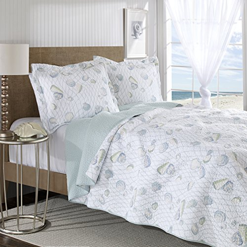 Laura Ashley Weekend Getaway Quilt Set, Twin front-896841