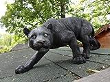 Design Toscano KY71174 Shadowed Predator Black Panther Garden Statue
