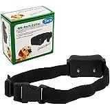 Tera® Collier de dressage automatique à onde ultrasonore pour arrêter l'aboiement du chien