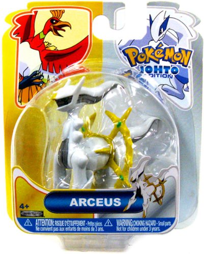 Pokemon Johto Edition 16 Basic Figure Arceus (Pokemon Arceus Figure compare prices)