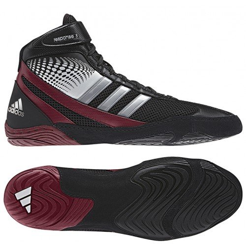 Adidas Response Wrestling Shoes Black