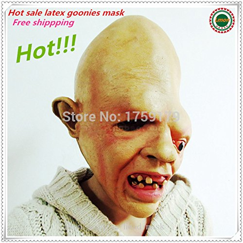 2015 - 2015 Halloween Horrible Adult Face Masks Scary Style Monster Mask,Goonies Sloth Mask Adults Masquerade Horror Mask