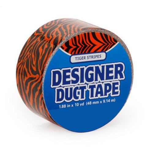 Just for Laughs Orange Tiger Designer Duct Tape (10-Yard) - 1