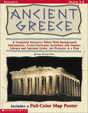 Ancient Greece: A Complete Resource Filled with Background Information, Cross-Curricular Activities and Games, Library a