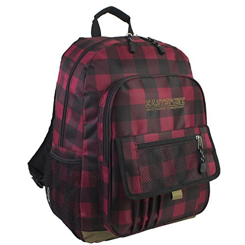 eastsports-daypack-red-and-black-plaid