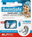 Alpine SwimSafe 2015 - Ear Plugs for Swimming & Keep Water Out, Free Miniboxx