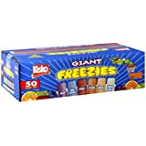 Kisko Freezies, 5.5-Ounce, 50 Count
