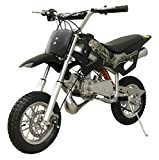 49cc 50cc 2-Stroke Gas Motorized Mini Dirt Pit Bike (Black)