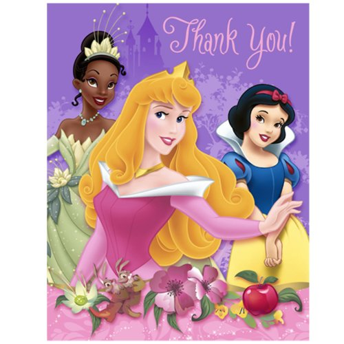Disney Princess Dreams Thank-You Notes