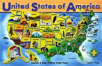 Melissa & Doug USA Map Puzzle