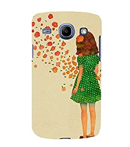 EPICCASE Windy Girl Mobile Back Case Cover For Samsung Galaxy Core (Designer Case)