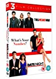 This Means War / What's Your Number? / Date Night Triple Pack [DVD] [2010]