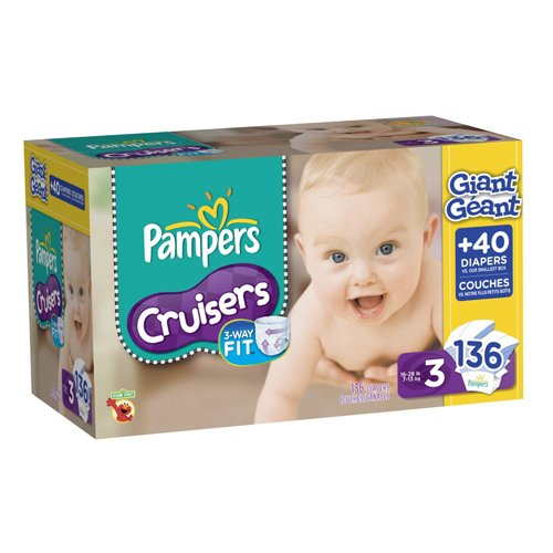 Pampers Giant Pack front-735291