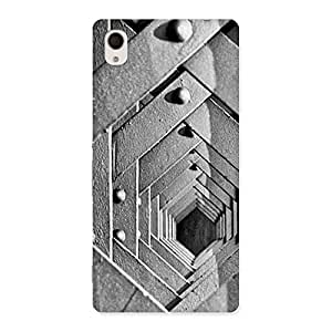 Enticing Cage Hexa Back Case Cover for Sony Xperia M4