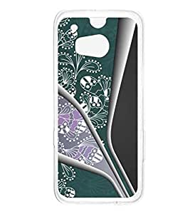 a AND b Designer Printed Mobile Back Cover / Back Case For HTC One M8 (HTC_M8_1772)