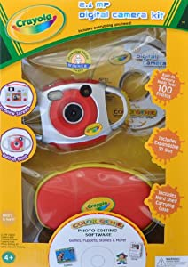 Crayola 2.1 Megapixel Digital Camera Kit - Red