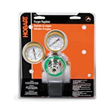 Hobart 770503 CGA-540 Medium Duty Oxygen Regulator and Gauges