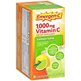Emergen-C 1000mg Lemon and Lime Flavour Drink 30 Sachets (並行輸入品)