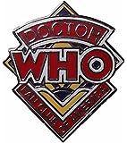 "DOCTOR WHO Original Series Enamel 1"" Wide Logo PIN"