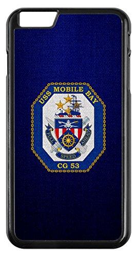 Case for iPhone 6 - US Navy USS Mobile Bay (CG 53), cruiser emblem (crest)
