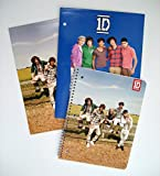 1D One Direction Spiralbound Notebook & 2 Folders - Back to School Supplies