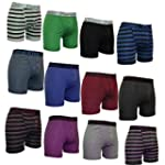 Mens 12 Pack Pierre Klein Underwear F...