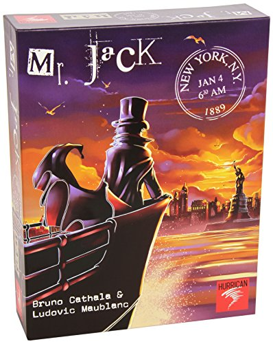 Mr.Jack in New York (New York Board Game compare prices)