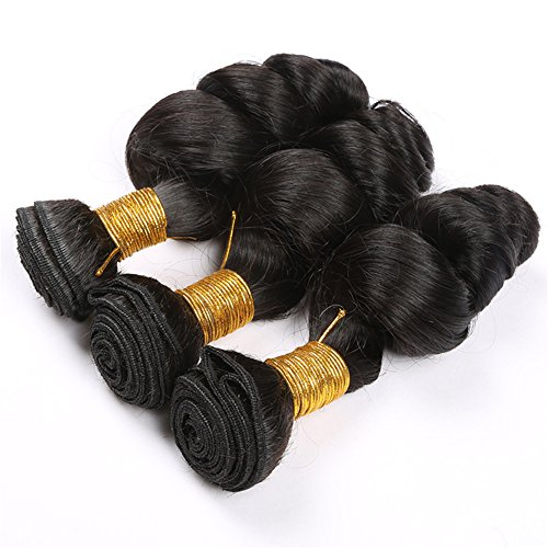 Angelbabyhair-8A-1B-16-Inch-Peruvian-Unprocessed-Human-Virgin-Hair-Weft-Weaves-Loose-Wave-3Pcs-Hair-Bundles
