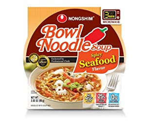 Nongshim Spicy Seafood Noodle Bowl 303-ounce Pack Of 12 from NONGSHIM
