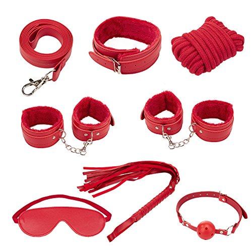Kits-de-Jouets-Louviva-Sexuels-Bondage-7-Pices-Tels-que-Bandages-Dyeux-Menottes-Srie-de-Stimulation