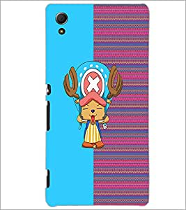 PrintDhaba Cartoon D-3739 Back Case Cover for SONY XPERIA Z4 (Multi-Coloured)