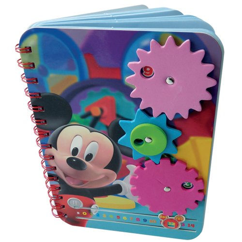Imagen principal de Darpeje CDIM005 Mickey Mouse - Cuaderno de dibujo con 3 rotuladores